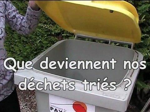 Visite du centre de tri des déchets ménagers d'Aubagne