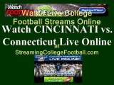 Watch CINCINNATI UConn Online | CONNECTICUT vs. CINCINNATI Football Live Streaming