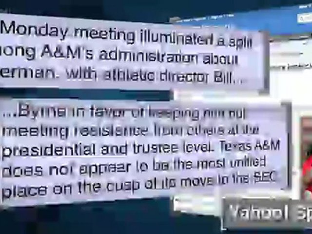 Mike Sherman Firing Latest in Texas A&M Mess