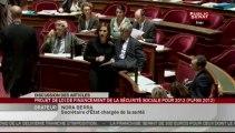 SEANCE,Projet de loi de financement de la sécurité sociale pour 2012