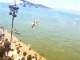 moto cross saut et chute impressionnant compil