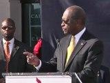 Herman Cain jette l'éponge, cerné par les scandales sexuels