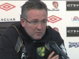 """Norwich - Lambert: """"City troppo forte"""""""