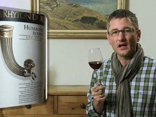 Humagne Rouge 2010 Le Rhyton d'Or - Wein im Video