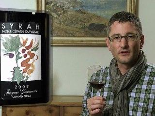 Syrah Noble Cépage du Valais 2009 Jacques Germanier - Wein im Video