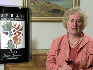 Syrah Noble Cépage du Valais 2009 Jacques Germanier - Wine Tasting