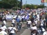 Protestas en Nicaragua contra la reelección de Ortega