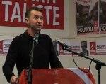 Meeting du NPA: intervention d'Olivier Besancenot