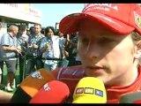 Brazil 2008 Kimi Räikkönen Quali Interview