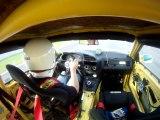 Bmw M3 jaune Magny-cours F1 4'20 lotuscup et gt3 4L, 5'01cliors 6'20ariel 10'00mitsu 13'48cliowilliams