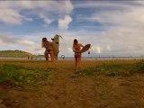 GoPro HD HERO Alana and Monyca Surfing Hawaii