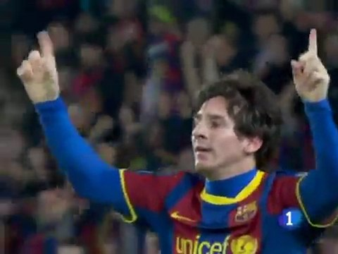 MESSI : son but contre Arsenal (Puskas 2011)