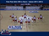 pom pom Girls STB Le Havre