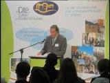 Jean-Michel COUVE, Député du Var, Président du Groupe d'études Tourisme à l'Assemblée Nationale et du groupe « Patrimoine-Tourisme » du Conseil Culturel de l'Union pour la Méditerranée, « Patrimoine et tourisme, un enjeu pour l'espace mé