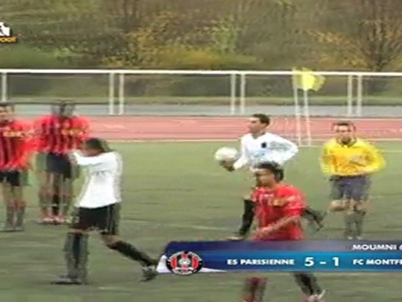 ES Parisienne 5-2 FC Montfermeil (04/12/2011)