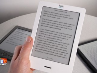 Prise en main du Kindle d'Amazon, du Kobo de la Fnac et du Cybook Odyssey de Virgin