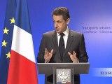 Discours de N. Sarkozy au CNIT