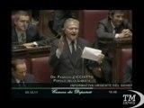 """Manovra, gaffe Cicchitto su Pdl fa ridere Berlusconi - VideoDoc. """"Le differenze politiche fra noi e il Pdl rimangono inalterate"""""""