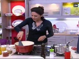 Chhiwat Choumicha recette perdrix farcie aux noix et raisins: Facile et rapide pour noel 2012