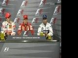Australia 2007 Quali Press Conference Formula One