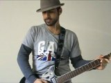 Diddy Dirty Money - Hello Good Morning - Live guitar Cover - One Shot Impro by Menjesbi