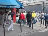 Vidéo Choc ! Appels à la haine en plein Paris lors de la prière interdite du 16 septembre 2011 !