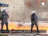 Affrontements entre manifestants et forces... - no comment
