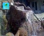 Behlül Konutları Yapay Kaya şelale ve yüzme havuzu