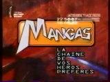 La Chaine Mangas (2002 - 2005) - Ouverture et fermeture antenne