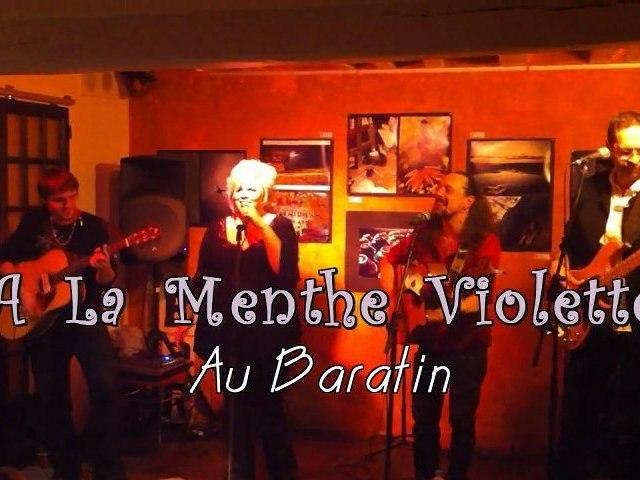 A La Menthe Violette @ Baratin