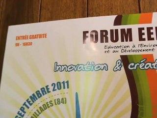 Forum régional de l'EEDD - innovation et création