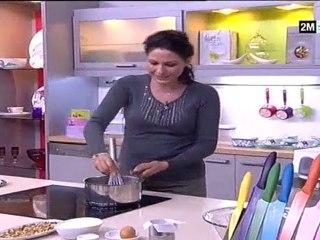 Choumicha recette pain au datte et noix