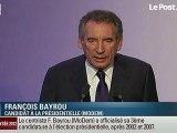 Bayrou candidat: cette fois, c'est la bonne !