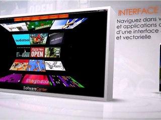 Publicité eviPad. Les tablettes eviGroup. Avec Scale