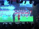 GamesMaster Golden Joystick Awards 2011 - Best Sport Award Presentation