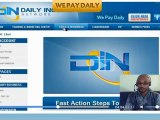 {Daily Income Network} Overview, of Daily Income Career Network Review!!! Get Paid Daily $20 Bills FREE