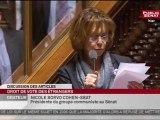 Sénat Adoption du droit de vote des étrangers aux municipales  - 08-12-2011