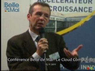 Conférence Belle de Mai - Le cloud computing