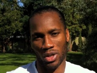 Didier Drogba rejoint le Team Orange