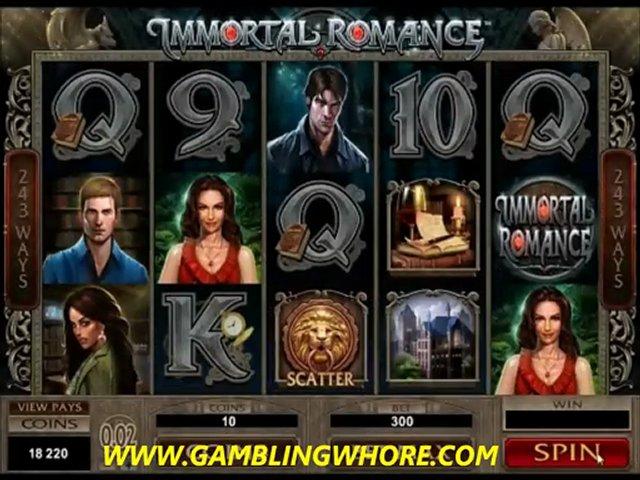 Immortal Romance new slot – no deposit bonus @ gamblingwhore.com