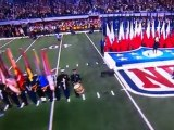 Christina Aguilera forgets lyrics words to National Anthem at Super Bowl XLV