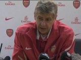 """Wenger:"""" estamos donde queremos estar"""""""