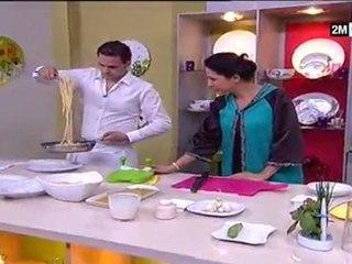 CHOUmicha - Recette pour maigrir Spaghetti aux légumes (facile, rapide)