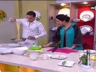 Spaghetti au Légume