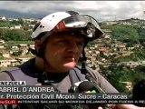 Varias viviendas arrasadas por lluvias en Caracas