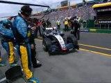 Australia 2005 Kimi Räikkönen stalls engine at GP-Start