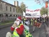 manif du 10/12/2011 à Toulon (collectifs Sanary, Ollioules, SSB et Stop TGV Coudon)
