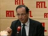"""François Hollande, candidat socialiste à la Présidentielle : """"Si je suis élu, je renégocierai l'accord trouvé à Bruxelles"""""""