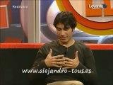 "Alejandro Tous. Entrevista en el programa ""Vent de Llevant"""
