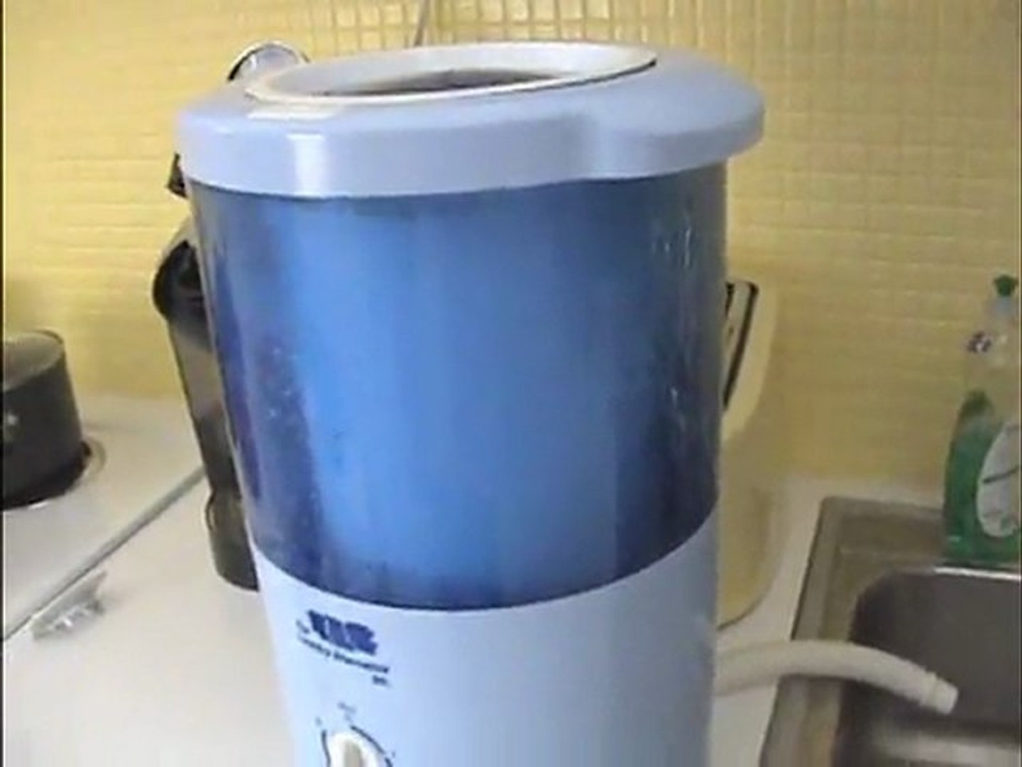 Mini Countertop Spin Dryer Clothes